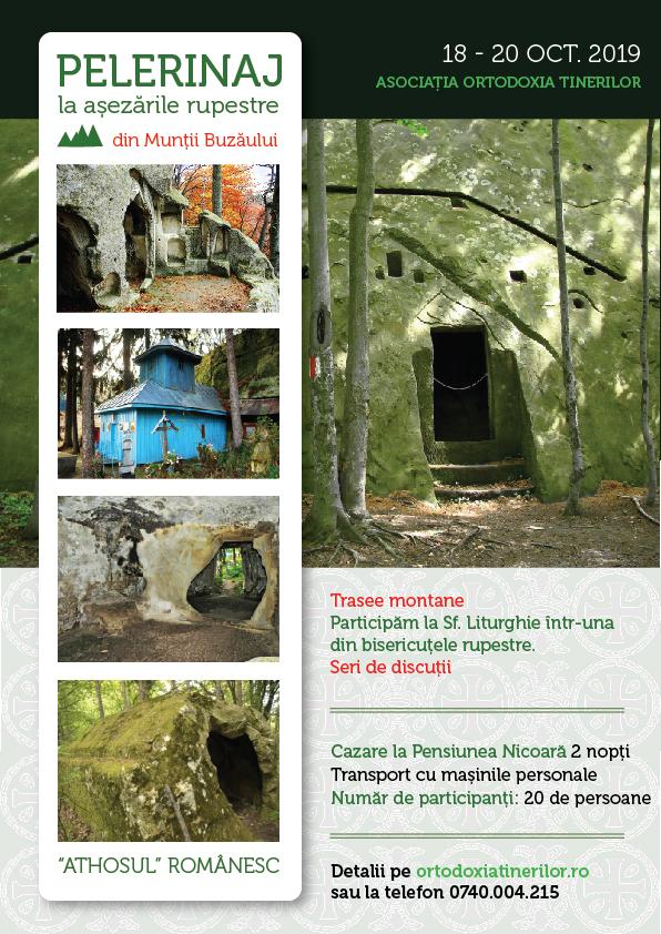 Excursie la așezările rupestre din Munții Buzăului (18-20 oct. 2019)