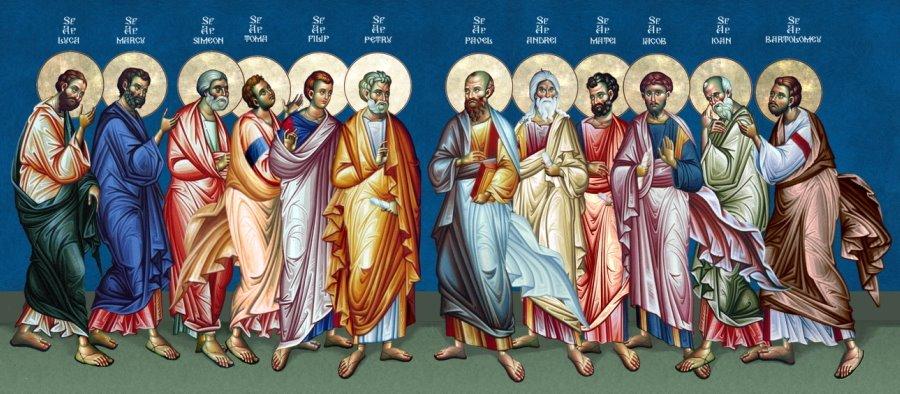 Αποτέλεσμα εικόνας για sfinti apostoli