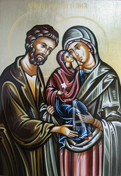 Sfinții Părinți Ioachim și Ana
